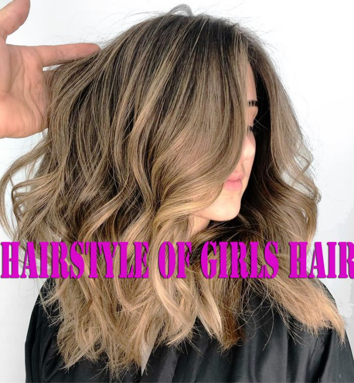 The Popular Hairstyle of Girls Hair