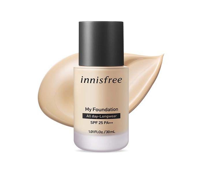 Innisfree My Foundation best foundation for oily skin in india