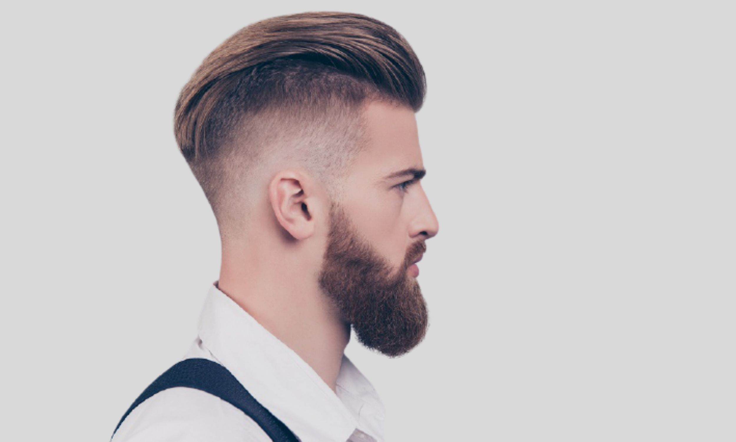 Comb over hair style